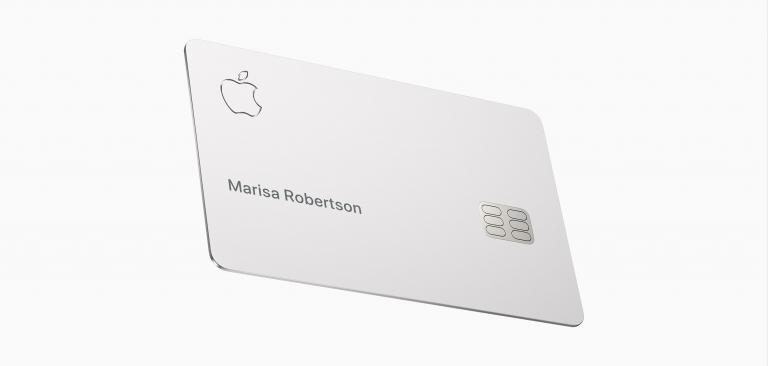 Apple Cardのデザイン
